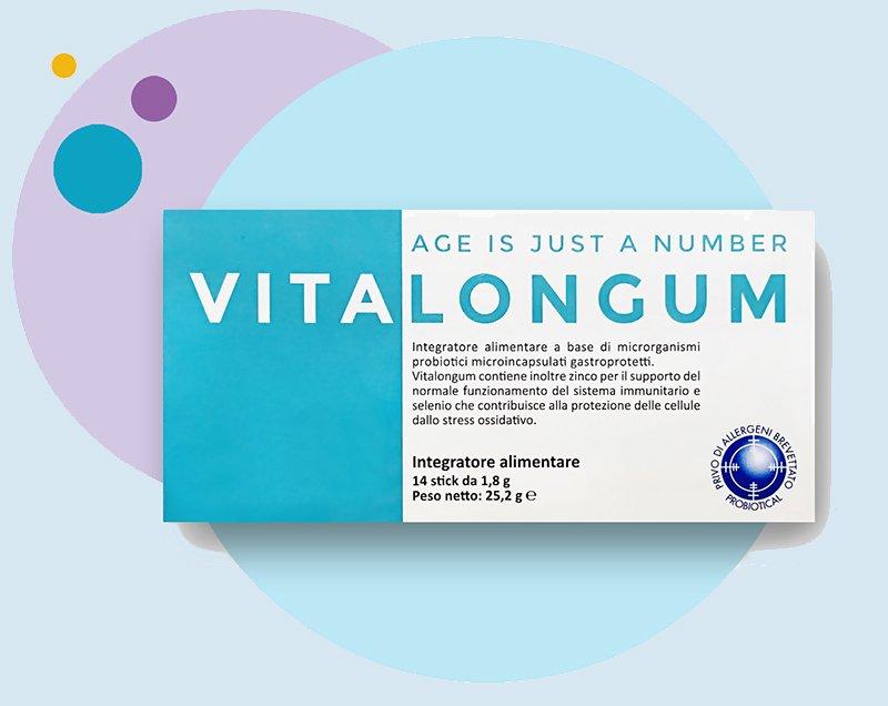 Vitalongum probiotico